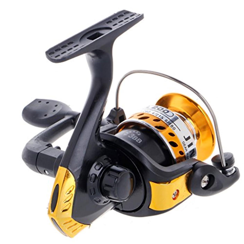コテージライバル動力学loves1568 3bbボールベアリング釣りスピニングリールギア魚スプールリール高速5.2 : 1