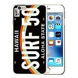 301-sanmaruichi- iPhone6s ケース iPhone6 ケース ハードケース おしゃれ ナンバープレート プレート ハワイ アロハ surf サーフ メンズ かっこいい C