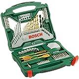 Bosch 2607019329 70 Piece X-Line Drill and Screwdriver Bit Set