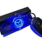 VILLSION マツダ7変色車のロゴキーバックル LED ランプ Mazda キーチェーン車のインテリアペンダントアクセサリー