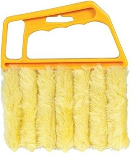 [해외]Super JP 커튼 청소기 창문 청소 브러시 ??옐로우/Super JP Blind Curtain Cleaner Window Cleaning Brush Yellow
