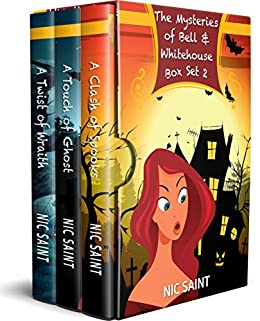 The Mysteries of Bell & Whitehouse: Books 4-6 (The Mysteries of Bell & Whitehouse Box Sets Book 2) by [Saint, Nic]