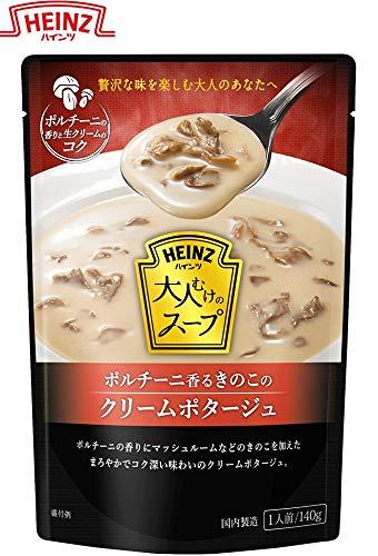 ハインツ (Heinz) 大人むけのスープ ポルチーニ香る きのこのクリームポタージュ 140g×5袋