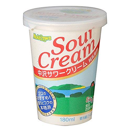 【冷蔵便】中沢 サワークリーム / 180ml TOMIZ/cuoca(富澤商店)