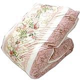 東京西川 羽毛布団 フランス産ホワイトダックダウン90% ピンク