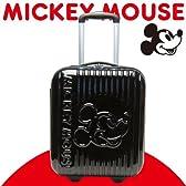 ジッパーキャリーケース 【スーツケース】 ブラック ブラインドミッキー ミッキーマウス ディズニー トラベル用品 100cm対応(外寸合計)