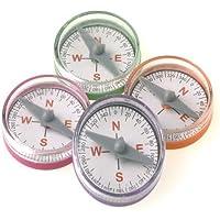 Lot Of 36 Assorted Color Mini Compass Toys [並行輸入品]