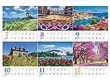 世界一美しい花風景を散歩する 2020年 カレンダー 壁掛け SD-2 (使用サイズ594x420mm) 風景 画像