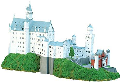 童友社 1/220 ドイツの古城 ノイシュバンシュタイン城 プラモデル NSC