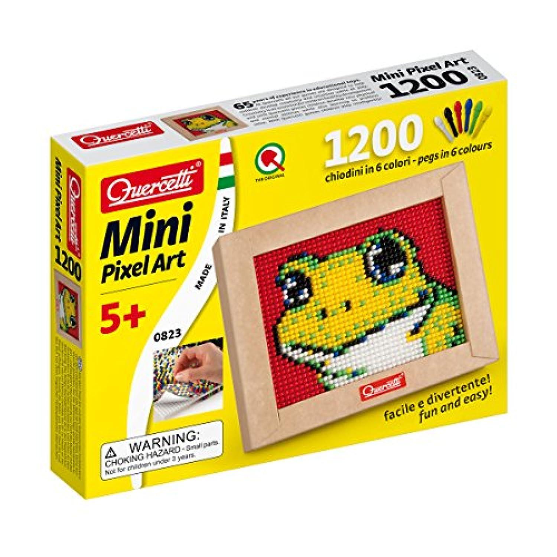 Quercetti QA0823 Mini Frog Pixel Art