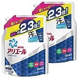 「【まとめ買い】 アリエール 洗濯洗剤 液体 イオンパワージェル 詰め替え 超ジャンボ 1.62kgx2個」のサムネイル画像