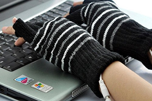[해외]Veroman USB 연결로 가열인지 장갑 컴퓨터 작업 PC/Veroman Heated with USB connection Gloves PC work PC