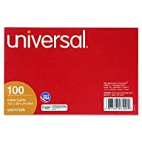 Unruled Index Cards, 4 x 6, White, 100/Pack (並行輸入品)