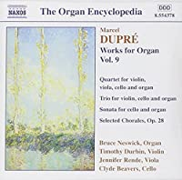 Works for Organ 9 by M. Dupre (2013-05-03)