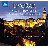 ドヴォルザーク:交響曲第6番/夜想曲/スケルツォ・カプリチオーソ