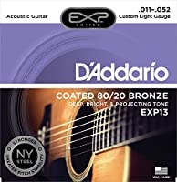 D'Addario/ダダリオ EXP13×6セット EXPコーティングアコギ弦[11-52]