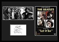 The Beatles/ザ・ビートルズ』 Let It Be/レット・イット・ビー/サインプリント&証明書付きフレーム-1 [並行輸入品]
