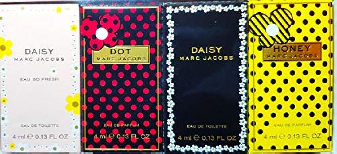 秘書メアリアンジョーンズシールドマークジェイコブス ミニチュア香水セット BT 4ml×4 (並行輸入品) デイジー/デイジー オーソーフレッシュ/ハニー / ドット