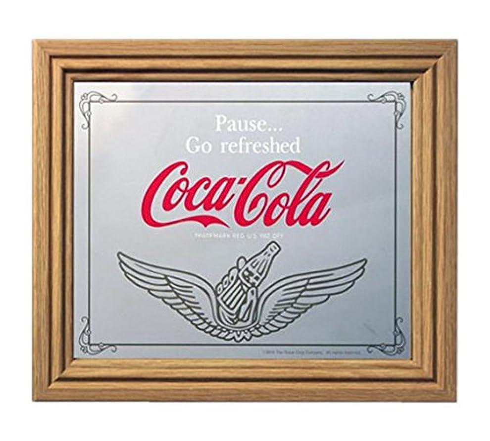 バリアソート分類するコカコーラ ミラー?鏡 ミラー 35×30×2.5cm