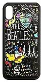 【The Beatles】ザ・ビートルズ タイトルイラスト iPhoneX ハードカバー [並行輸入品]