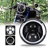 OVOTOR ホンダバイクCB4007インチLEDヘッドライト ホーネット250/900対応 ...