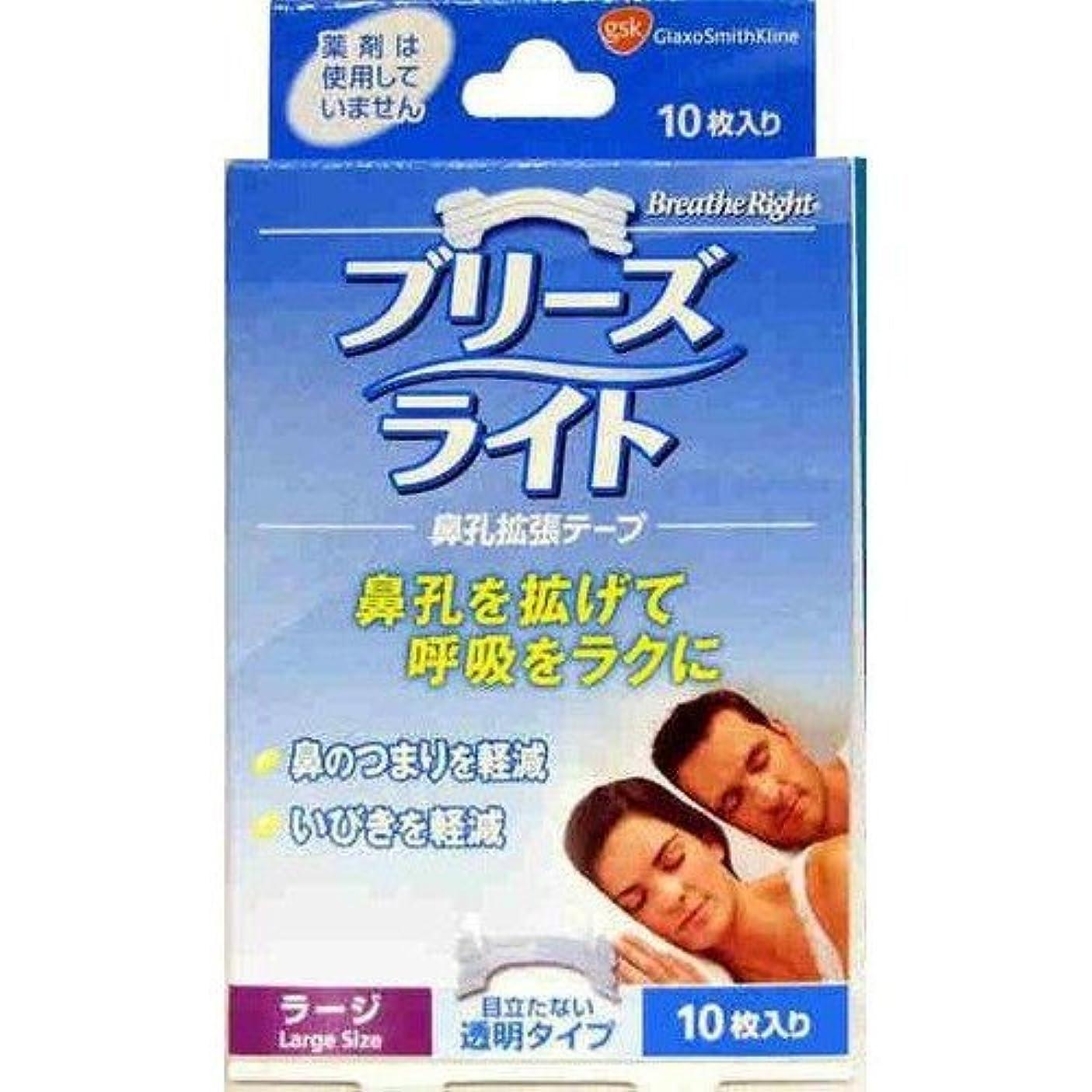 エゴイズム香水ガイドブリーズライト 透明タイプ ラージ 10枚入