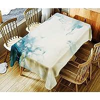 SLhouse ホーム印刷防水コーヒーテーブルクロスシンプルなテーブルクロス (Color : 07, Size : 150*260cm)