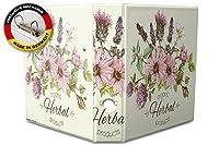 バインダー 2 Ring Binder Lever Arch Folder A4 printed Organic herbs