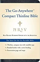 NRSV Go-Anywhere Compact Thinline Bible with the Apocrypha (Bonded Leather Navy【洋書】 [並行輸入品]