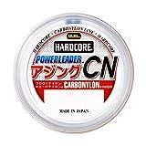デュエル(DUEL) ショックリーダー(カーボナイロン): HC POWERLEADER アジング CN20m 4Lbs. : ナチュラルクリアー