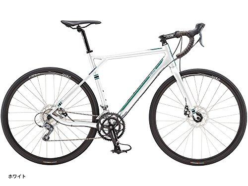 GT (ジーティー) 2016 グレード アロイ CLARIS2x8sDISC ロードバイク 500 ホワイト 9166705