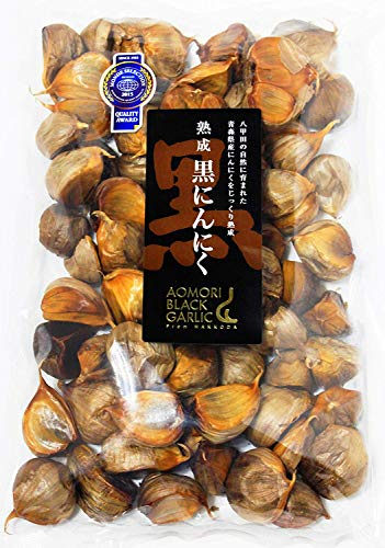【最高品質 モンドセレクション受賞】青森県産熟成 黒にんにく 500g(約2.5ヵ月分)/グローバルGAP認証取得 無添加黒ニンニク