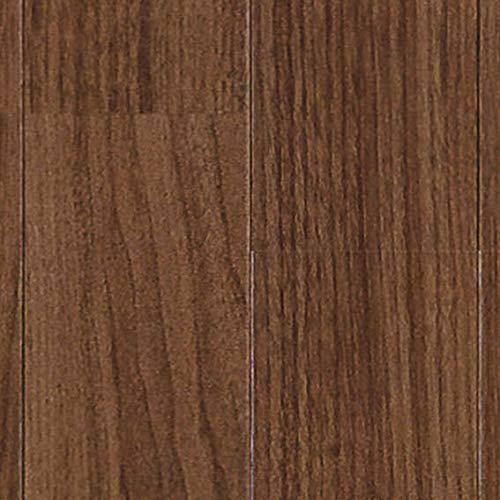 クッションフロア ウォールナット 切売り sincf-wallnat-182 (Sin) 182cm幅×8m E2204 (ダークブラウン) ...