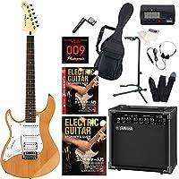 エレキギター ヤマハ PACIFICA112JL PAC112JL レフトハンドモデル ヤマハアンプ GA15II/オートチューナー/教則DVD付属 入門15点セット 初心者セット アルダーボディ YAMAHA (YNS)