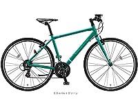 ブリヂストンサイクル(BS CYCLE) 17'シルヴァ F24(3x8s)クロスバイク EBコバルトグリーン 420mm 3519