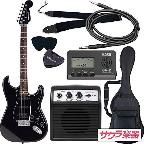 SELDER セルダー エレキギター ストラトキャスタータイプ サクラ楽器オリジナル STH-20/HBK 初心者入門ベーシックセット