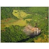 ポストカード「ハワイ・カウアイ島・ワイルアの滝」photo by Tabikabe.jp -えはがき絵葉書postcard-