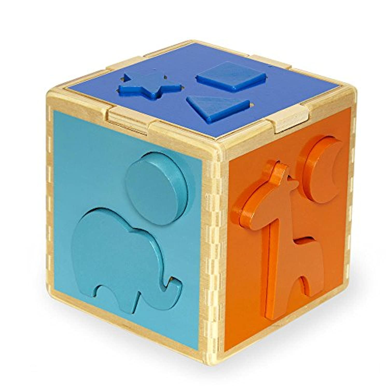 Imaginarium Discovery動物と図形並べ替えキューブ – 11ピース