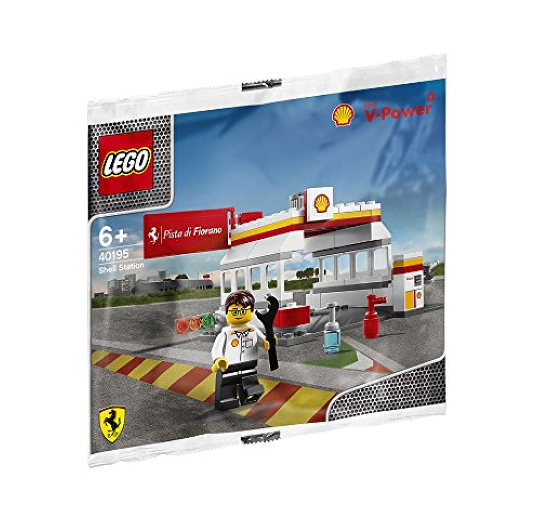 レゴ 40195 シェルステーション/Shell Station 昭和シェル限定 Shell V-power Lego Collection