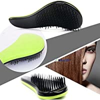 HOT Paddle Beauty Healthy Styling Care Hair Comb Detangle Brush Styling Tamer T〃 Lemon Green