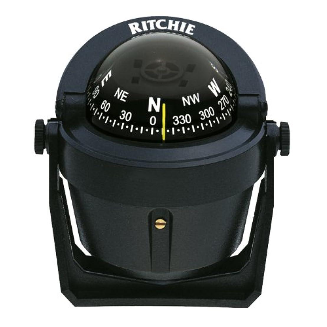 一時的忠実なブラケットRitchie B-51 Explorer Compass - Bracket Mount - Black by Ritchie