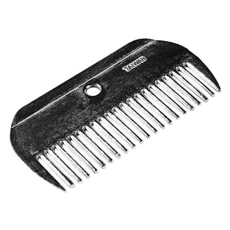 モナリザ側面気分が悪いHorze Metal Mane Comb [並行輸入品]