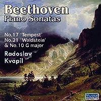 Beethoven: Piano Sonatas Nos. 10, 17 Tempest, and 21 Waldstein by Radoslav Kvapil (2013-11-05)
