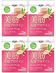 【4個セット】ユーグレナ 美筋 大豆プロテイン 180g