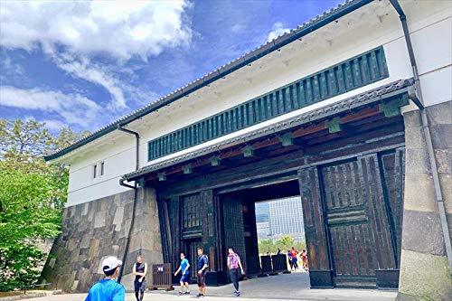 【日本のポストカードのAIR】東京都千代田区皇居桜田門のハガキはがき photo by MIRO