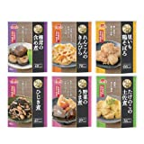 イチビキ 和風総菜 おふくろの味 6種類 30食セット