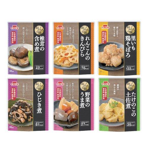 イチビキ おふくろの味 お惣菜6種類セット