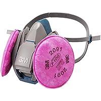 3M 取替え式防じんマスク 6500QL/2091-RL3 (防毒マスク兼用面体)