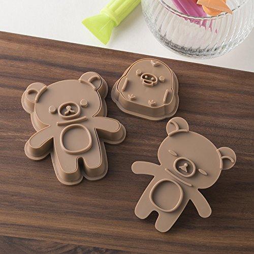 貝印 kai だっこ クッキー型 スタンプで表情が作れる リラックマ DN0200