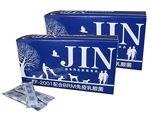 【2箱セット】 動物用乳酸菌食品 JIN(1箱90包入)...